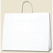 #3272100 [手提紙袋 38-3 白無地 片艶 100g 50枚入]