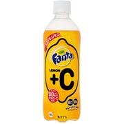 ファンタレモン+C  PET490ml×24本 [炭酸飲料]