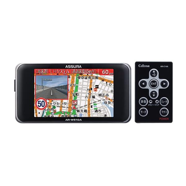 AR-W51GA [GPSレーダー探知機 ARシリーズ 一体型]