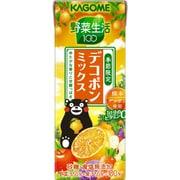 野菜生活 100 デコポンミックス 200ml×24本