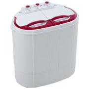 VS-H011 [2槽式小型洗濯機 極洗Light レッド]