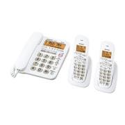 JD-G32CW [デジタルコードレス電話 子機2台 ホワイト系]
