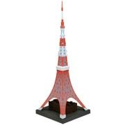 ソフビトイボックスHi-LINE003 東京タワー 日本電波塔 [1/1300スケール 全高約280mm 塗装済完成品フィギュア]