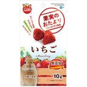 果実のおたより いちご 10g [小動物用フード・おやつ]