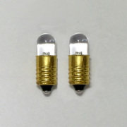 LK-8WH2-1.5V [エレキット 超高輝度電球型LED(白色・8mm・1.5V用) 2個入り]