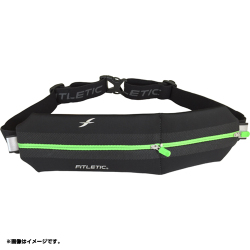 Neo II Double Pouch Fitletic Running Belt