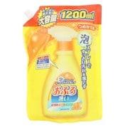 ニチゴー 泡スプレー おふろ洗い 詰替 1200ml [風呂用洗剤]