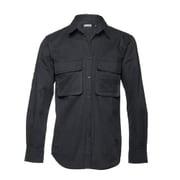 l/s Big Pocket shirt DOUBLE ECLIPSE Black L [ビッグポケットシャツ Lサイズ ブラック]