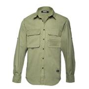 l/s Big Pocket shirt THE HUNTER Military M [ビッグポケットシャツ Mサイズ ミリタリー]