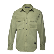 l/s Big Pocket shirt THE HUNTER Military XXL [ビッグポケットシャツ XXLサイズ ミリタリー]