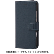 RT-AX3MELC1/DN [SoftBank AQUOS Xx3 mini 手帳型ケース シンプル マグネット ダークネイビー]