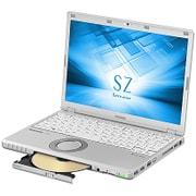 CF-SZ6JD3QR [Let's note(レッツノート)SZ6シリーズ/12.1型/Core i7-7500U/SSD256GB/メモリ8GB/DVDスーパーマルチドライブ/Windows 10 Pro 64ビット/Office搭載/シルバー]