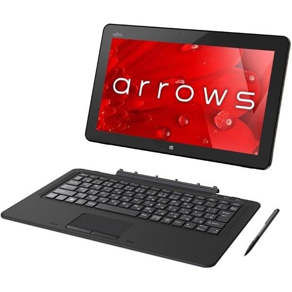 FARR77B1 [タブレット arrows Tab RHシリーズ/Core i5-7200U/12.5型ワイド/メモリ4GB/SSD 256GB/Windows 10 Home 64ビット/Office Home and Business Premium/ゴールド]