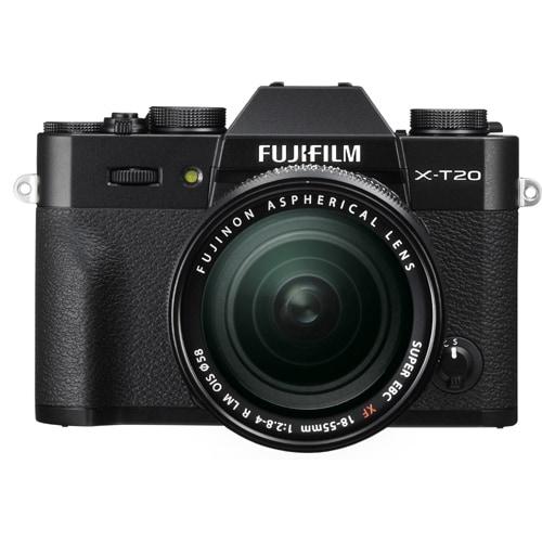 X-T20 レンズキット ブラック [ボディ+ズームレンズ「XF18-55mmF2.8-4R LM OIS」]