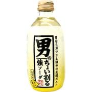 カクテス 男のちょい割る強ソーダ レモン 300mL×24