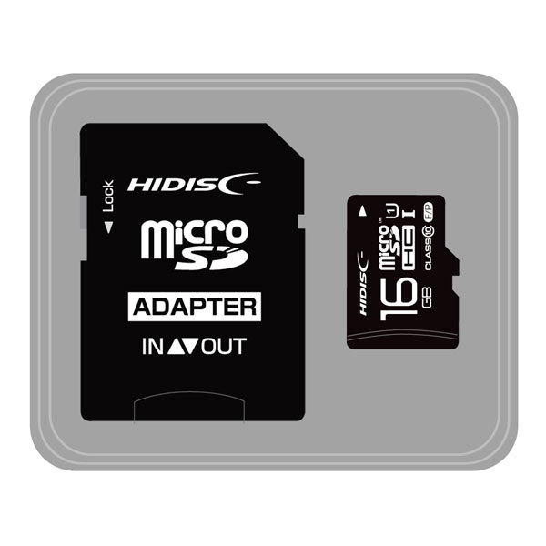 HDMCSDH16GCL10UIJP3 [SDHC UHS-1 16GB Class10]