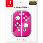 NJS-001-2 [Nintendo Switch専用 Joy-Con SILICONE COVER for Nintendo Switch ピンク]