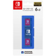 NSW-018 [カードケース6+2 ブルー for Nintendo SWITCH]