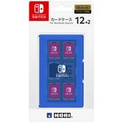 NSW-022 [カードケース12+2 ブルー for Nintendo SWITCH]
