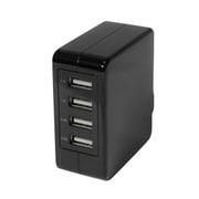 OWL-ACU4F51-BK [AC USBアダプタ USB×4 合計5.1A出力 スイングプラグ ブラック]