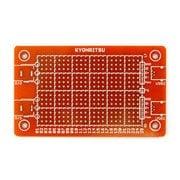 KP-53×89 [ユニバーサル基板 DCジャック+USB Mini-B 変換付]