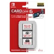 ILXSW196 [Nintendo Switch用 カードケース6 Clear]