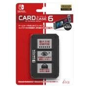 ILXSW197 [Nintendo Switch用 カードケース6 Black]