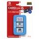 ILXSW198 [Nintendo Switch用 カードケース6 Blue]