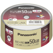 LM-BES50P30 [録画用BD-RE 書き換え型 片面2層 50GB  30枚]