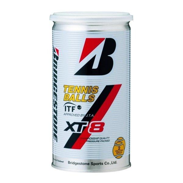 BBA2XA XT8 [硬式テニスボール 3缶増量BOX(1缶2球入×30缶+3缶/60+6=66球)]