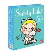 レモンアンドシュガー SAFETY TOILET 非常用簡易トイレ 10セット 目隠しポンチョ付