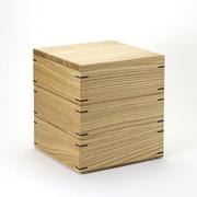 木製 お重 M