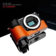 XS-CHA6500OR [ソニー α6500用 カメラハーフケース オレンジ]