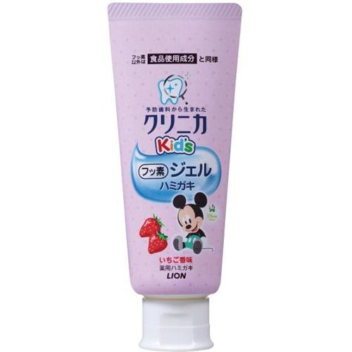 クリニカKid's ジェルハミガキ いちご 60g [子供用歯みがき粉 医薬部外品]