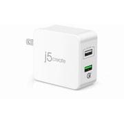 JUP20J [Quick Charge 3.0対応 31.5W 2ポートUSB充電器]