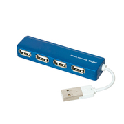 UH-2444BL [USB2.0 4ポートハブ ブルー]