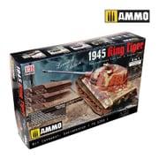 AMO8500 [1/35 ミリタリーシリーズ限定版 WWII ドイツ軍 重戦車 Sd.kfz.182 キングタイガー ヘンシェル砲塔 1945年 2in1]