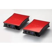 JADE next Ultimate bi power FitEar-Unbalanced with VanNuys bag Red [ポータブルヘッドフォンアンプ 専用キャリングバッグ付き限定モデル]