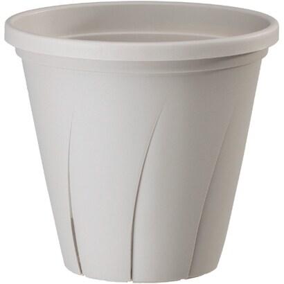 根はり鉢 4号 ホワイト [鉢]