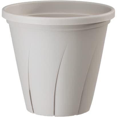 根はり鉢 5号 ホワイト [鉢]