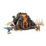 42305 [大火山とティラノサウルス恐竜ビッグセット]