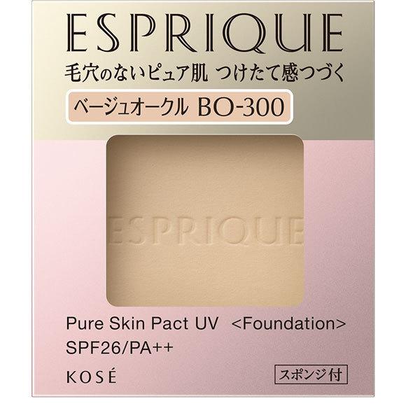 エスプリーク ピュアスキン パクト UV BO-300 ベージュオークル [パウダーファンデーション]