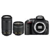 D5300 AF-P ダブルズームキット [ボディ+交換レンズ「AF-P DX NIKKOR 18-55mm f/3.5-5.6G VR」「AF-P DX NIKKOR 70-300mm f/4.5-6.3G ED VR」]