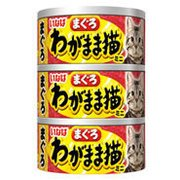 わがまま猫まぐろ ミニ3缶 まぐろ 60g×3 [キャットフード]