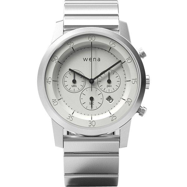 WN-WC01W [wena wrist(ウェナ リスト) Chronograph(クロノグラフ) ホワイト]