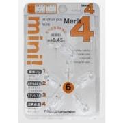 DMM-6P-TM [インテリアピンミニ 6本 透明]