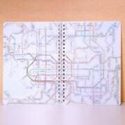 RNGKJ [鉄道路線図 リングノートA5 関西 日本語]