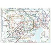 RFSJ [鉄道路線図 クリアファイル 首都圏 日本語]