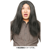 カツランド 黒髪ロン毛 [パーティグッズ]