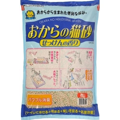 おからの猫砂 せっけんの香り 6L